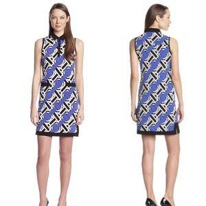 Donna Morgan Sleeveless Henley Dress Ultramarine